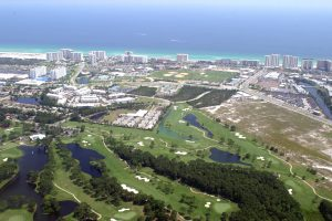 There are many Destin FL golf courses. Sandestin Golf courses include Baytowne Golf Club, The Links, The Raven and Burnt Pine, which is private.