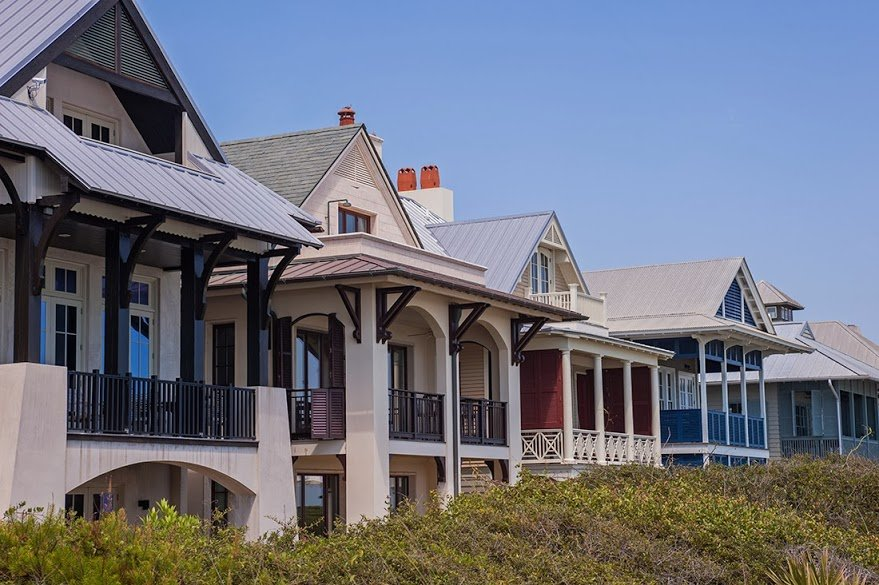 Paradise found in rosemary beach along 30a 30a luxury homes for 30a home builders