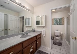 With an elegant en suite bath, a walk-in closet and a whirlpool tub - it's master suite is simple perfect!