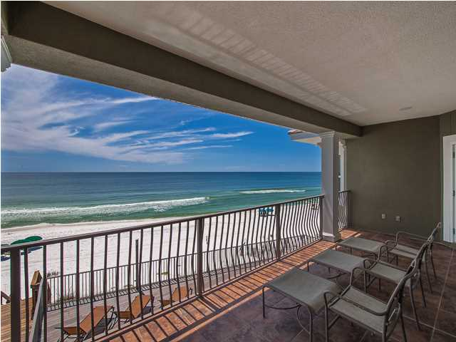 All of the bedrooms in this Santa Rosa Beach FL home for sale provide an incredible view of the Gulf of Mexico.
