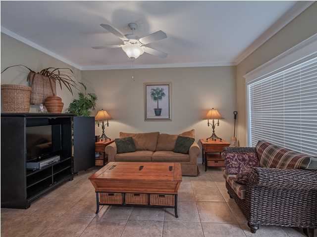 With three living rooms, there is plenty of space to entertain a large number of guests in this Santa Rosa Beach FL home for sale.