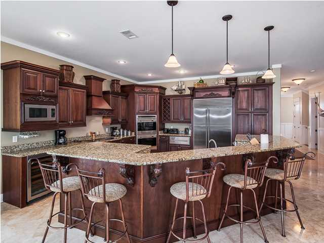 With three living rooms, there is enough space to be entertaining a large number of guests in this Santa Rosa Beach FL home for sale.