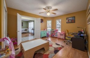 Each of the bedrooms in this gorgeos ranch home can be used for different purposes.