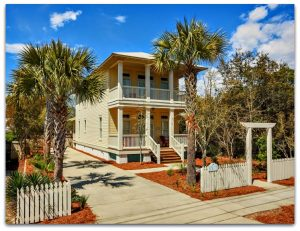 This Crystal Beach Destin FL home for sale defines living in a beach house at its best!