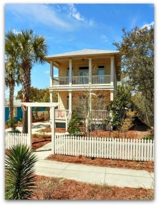 This strikingly beautiful Destin FL home for sale is located in Flood Zone X; flood insurance is not required!