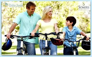Enjoy a wonderful biking experience when you live in one of the stunning homes along 30A.