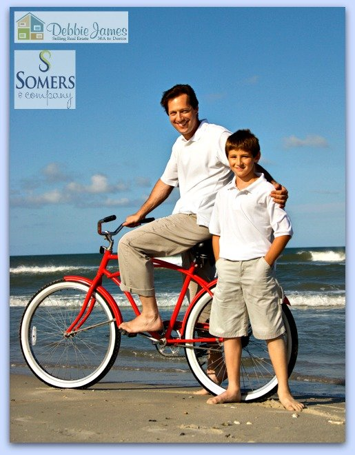 Biking is truly fun along 30A with its many scenic biking trails!