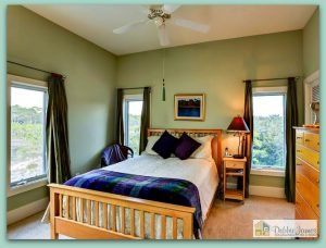 This exquisite Santa Rosa Beach FL home has 5 expansive bedrooms with each having its own balcony.