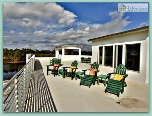 Enjoy 360 degrees of breathtaking views in this incredible Santa Rosa Beach FL home.