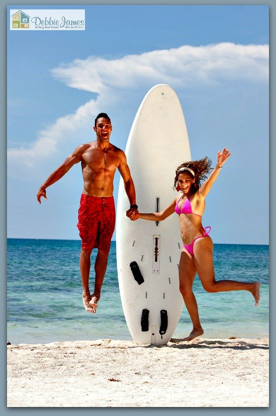 This is just one of the many fun activities in store for 30A luxury home residents.