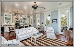 This home for sale in Seacrest Beach FL has plenty of space for gatherings.