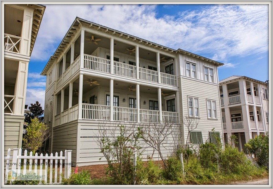 Everyday is a holiday in this Seagrove Beach home for sale with breathtaking views of the Gulf of Mexico.