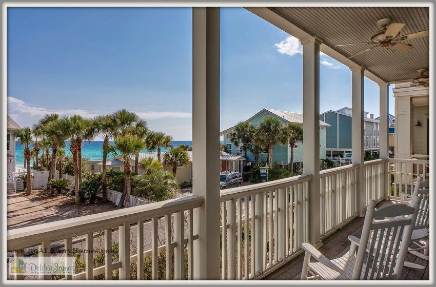 With 4 spacious bedrooms that include 2 master suites, there's plenty of space in this stunning home for sale in Seagrove Beach FL.