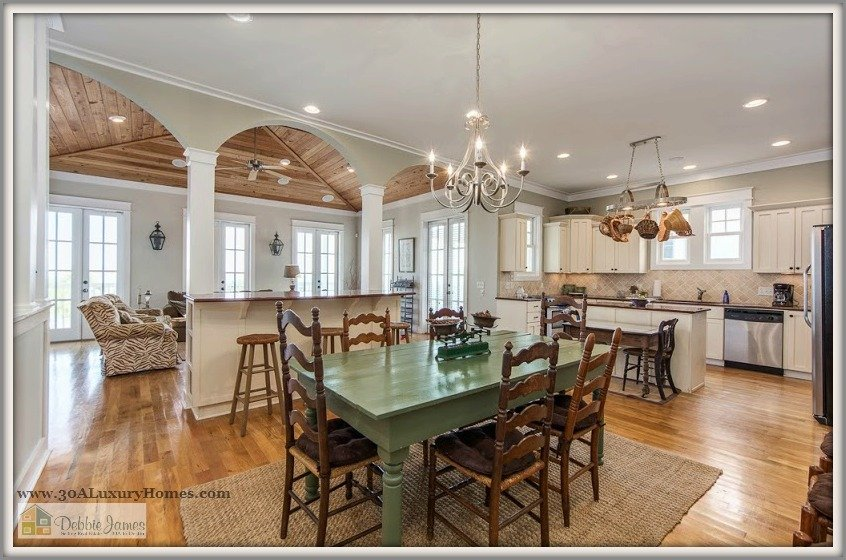 This gorgeous Seagrove Beach cottage home for sale is fully furnished and rental ready - you can't miss this rare opportunity.