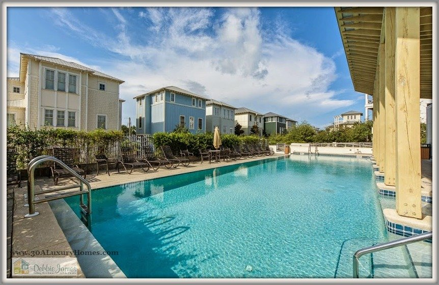 Enjoy ocean breezes and wonderful views of the beach only 50 yards away from this lovely 30A luxury home for sale in Seagrove Beach FL.