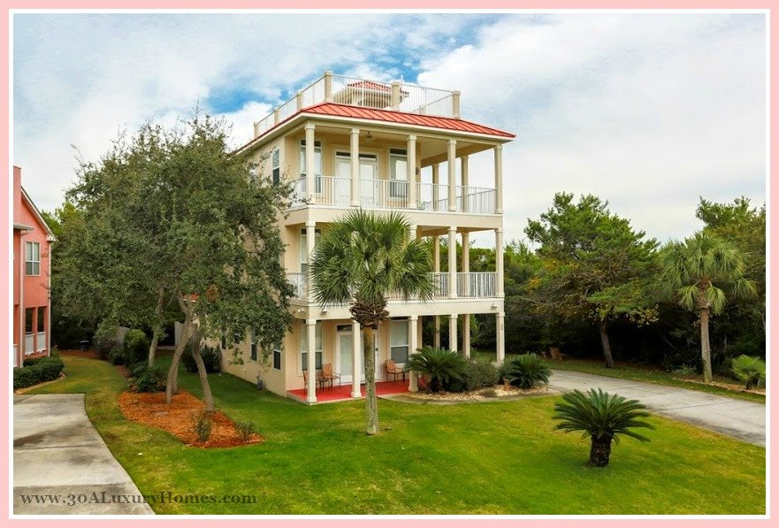 4 bedroom cottage style beach home for sale in seacrest fl