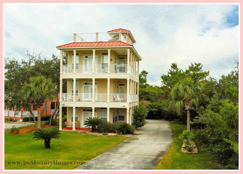 This splendid Seacrest FL home for sale was definitely designed to impress!