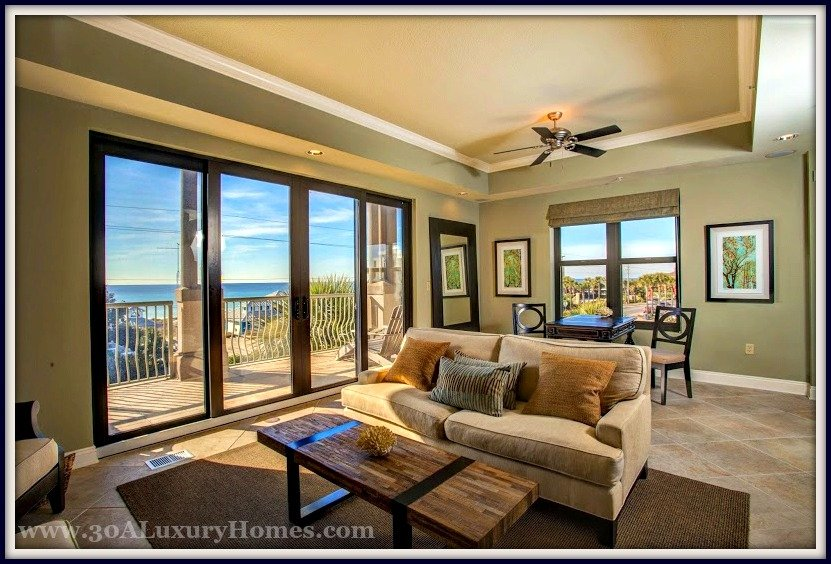 Comfort has no boundaries in this 30A condo for sale with fabulous Gulf views!