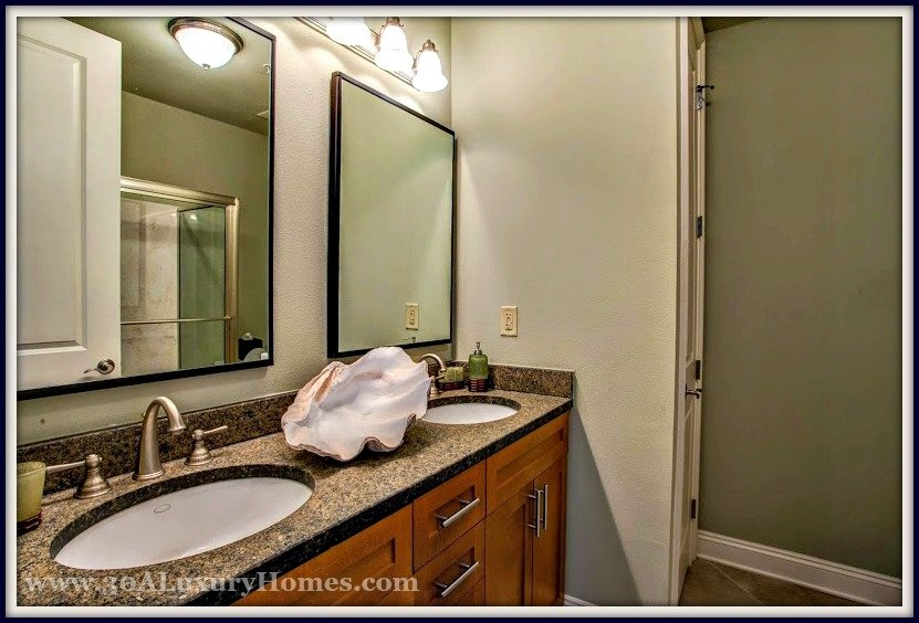you will defintely love the luxurious feel of the upgraded master bath with walkin