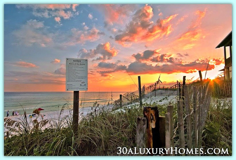 Residents of 30A luxury homes get to enjoy a lifestyle that's unrivalled by many, making the luxury homes for sale here among the most sought after.