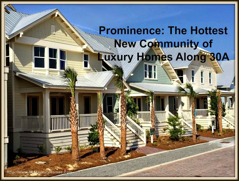 Check out what Prominence can offer you with the hottest luxury homes along 30A and its amazing amenities!