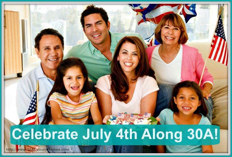Join the residents of 30A luxury homes in celebrating the 4th of July with these amazing festivities!