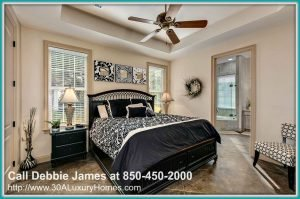You can have the needed space to relax from a tiring day in the cozy master bedroom of this exquisite 4 bedroom home for sale in Miramar Beach FL.