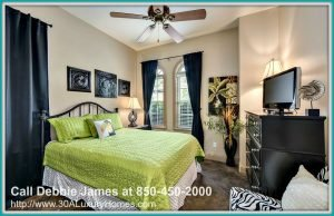 Having guests over won't be a problem with the equally attractive king guest bedroom and bunk room that are readily available in this glamorous home for sale in Miramar Beach FL.