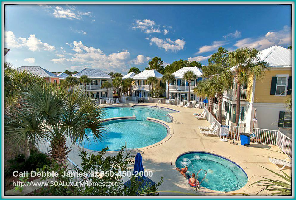 Spend the day bonding with your family and friends in this amazing community pool just outside the stunning cottage home for sale in Seagrove Beach FL.