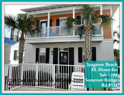 This Seagrove Beach FL home for sale could be your greatest investment!