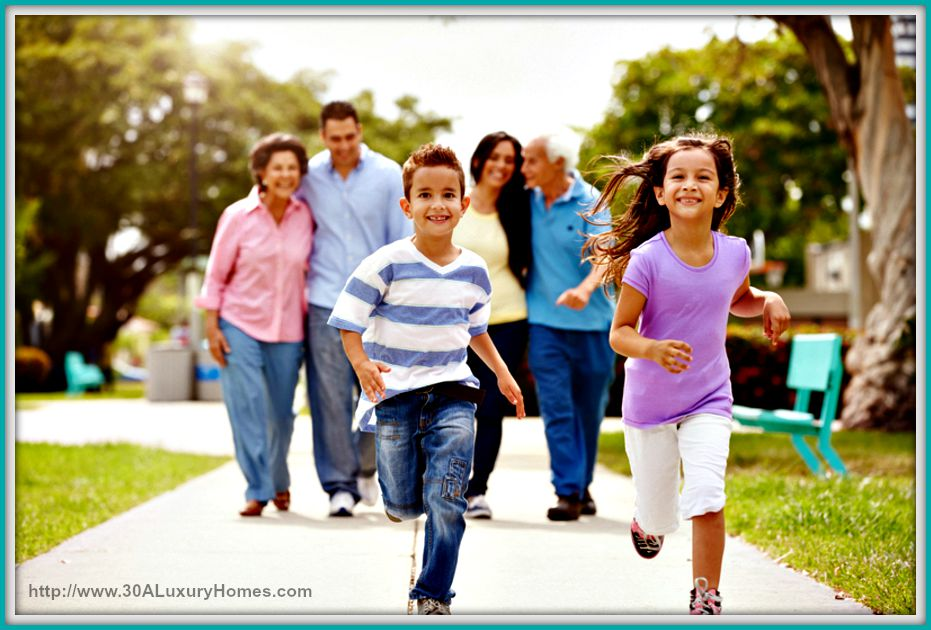 Multi Generation Check out the best park to have picnic with your family near 30A luxury homes in Alys Beach.